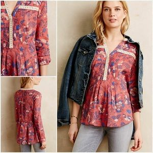 Maeve Abella Tunic from Anthropologie!